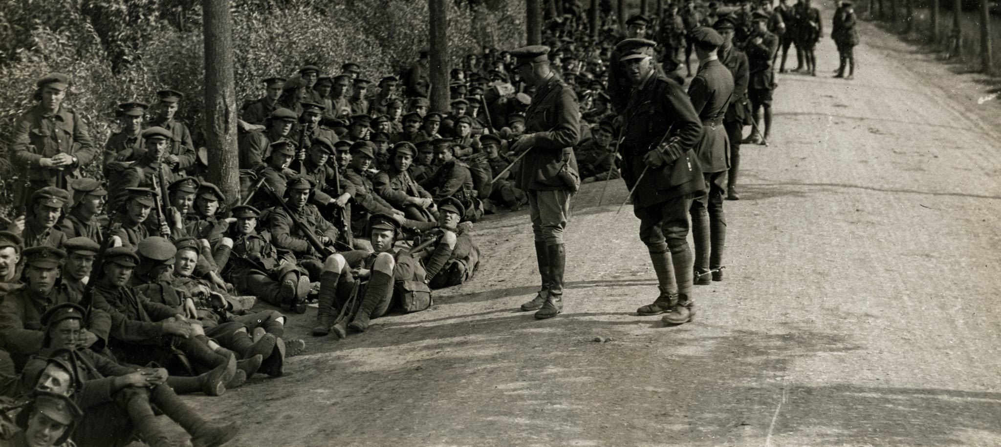 Western Front Battlefield Tours - Home page header