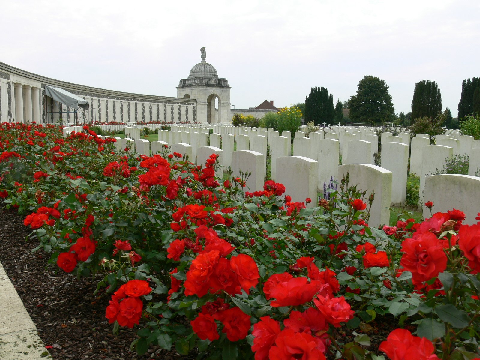 Tyne Cot Cemetery, Ypres